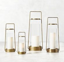Hanging Brass Candle Holder