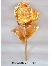 Gold Dipped Natural Flower