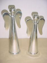 Christmas Aluminium Angle Candle Holder Stand