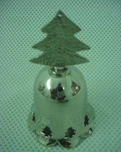 Christmas Tree Brass Bell