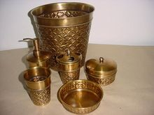 Copper Plated Bathroom Accessories