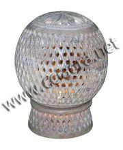 Soapstone Tealight Candle Lamp