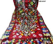 Ethnic Hand Embroidery Gypsy Neck Yoke Banjara Cotton Dress