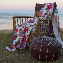 Reversible Kantha Blanket