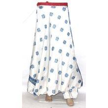 Silk Drape Skirt