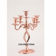 Copper Finish Candelabra