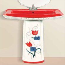 Decorative Ceramic Sanitary Ware Wash Basin