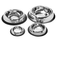 Stainless Steel Belly Anti-skid Pet Bowls