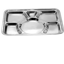Stainless Steel Mess Compartment Trays