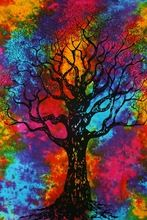 Wall Hanging Tie Dye Tapestry