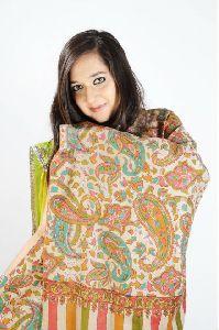 Kalamkari Pashmina Shawl