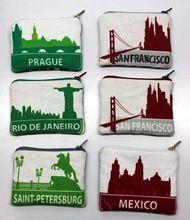 City Image Printed Cotton Fabric