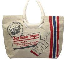 Cotton Fabric Printed Shopping Bag