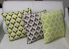Goldel Foil Printed Cushion Cover