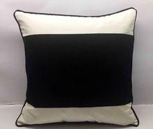 Stripe Theme Velvet Cotton Cushion