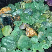 Green Fluorite Rough Stone