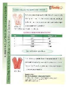 Electrical Shock Proof Hand Gloves