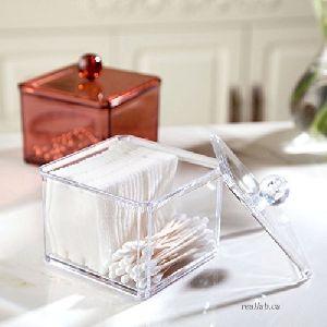 Plastic Cotton Box