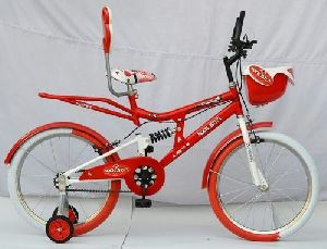 Rockstar 20 Inches Red Kids Bicycle