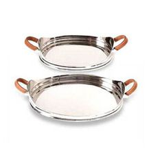 Round Shaped Stainless Steel Trays