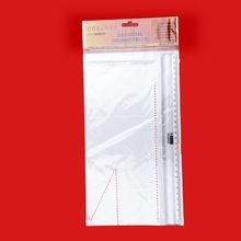 Plastic BOPP bags with header