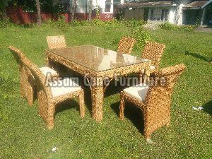 Cane Sofa Set