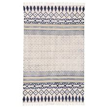 cotton durrie rug