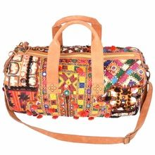 EMBROIDERY TRAVEL BAG