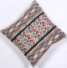 Kantha Paisley Cushion Cover