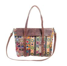 leather Rajasthani bags