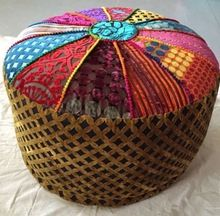 pouf AND ottoman covers