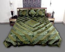 Satin Silk Bed Cover