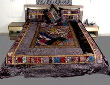 Velvet Double Bed Cover