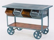 Industrial Trolly With Drawer