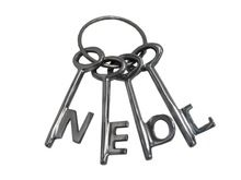 Aluminium Key Set Neol
