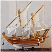 Kerala Wooden Boat Miniature Handicraft