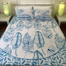 Bohemian Block Printed Bed Sheet