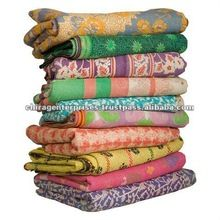 Indian Vintage Kantha Home Decorative Throws