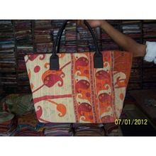 Kantha Large Shopping Bags