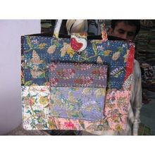 Kantha Shopping Bag