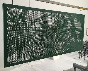 Perforated Decorative Screen