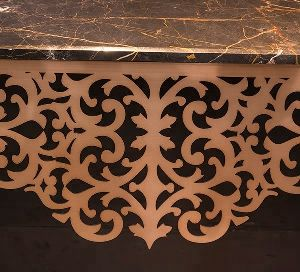 Stippler Console Table
