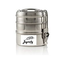 3-Tier Stainless Steel Tiffin Lunch Box