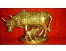 Brass Statue Kamdhenu cow