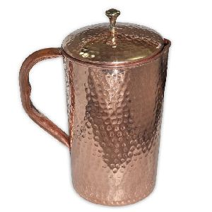 Copper Jug with Lid