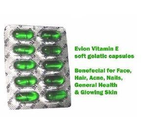 Evion Capsules Vitamin E