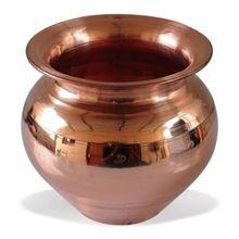 Handmade Copper Lota Kalash