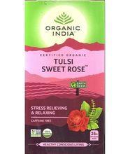 Organic Tulsi Sweet Rose Infusion TeaTea Bags