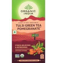 Tulsi Green Tea and Pomegranate, bags