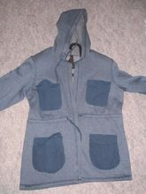 Cotton Viscose Hooded Jacket